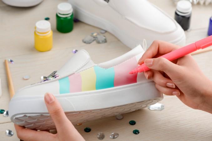 scarpe scolorite rimedi, scarpe scolorite