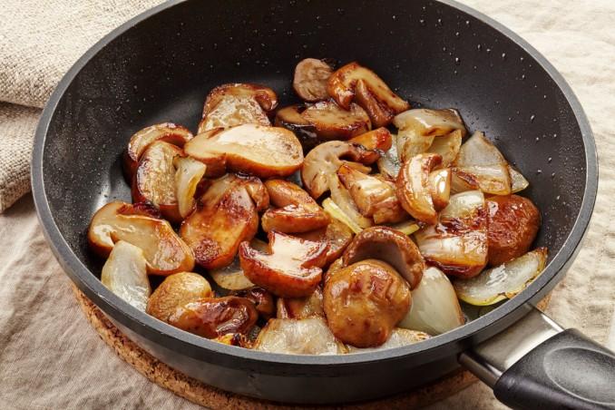 funghi porcini freschi, come cucinarli, padella