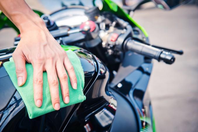 pulire moto, sgrassatore, come usarlo