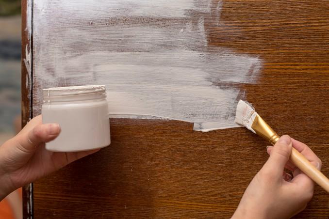 chalk paint fatta in casa