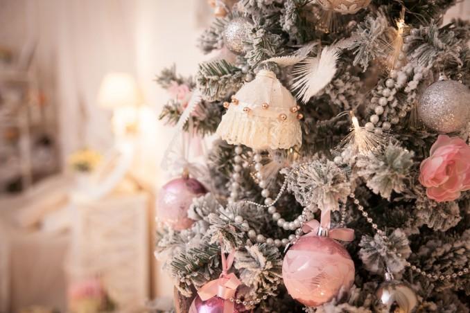 palline di Natale shabby chic fai da te, palline di Natale fai da te, palline di natale decoupage