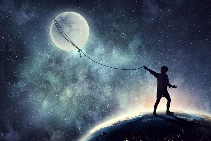 sognare luna, sogno luna, sognare luna cosa significa