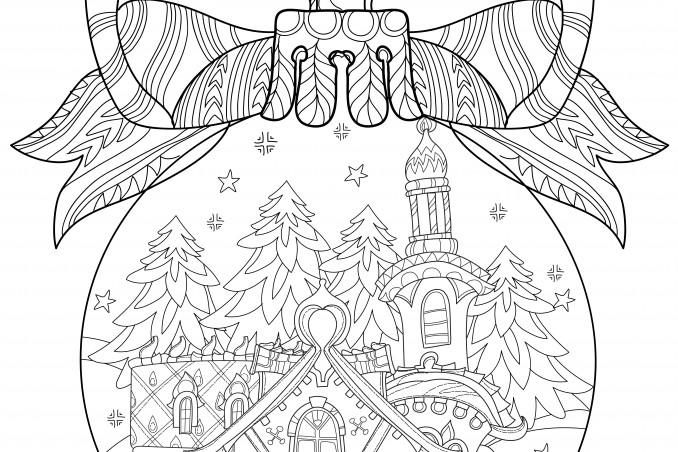 Palline Di Natale Da Colorare 8 Disegni Gratis Donnad