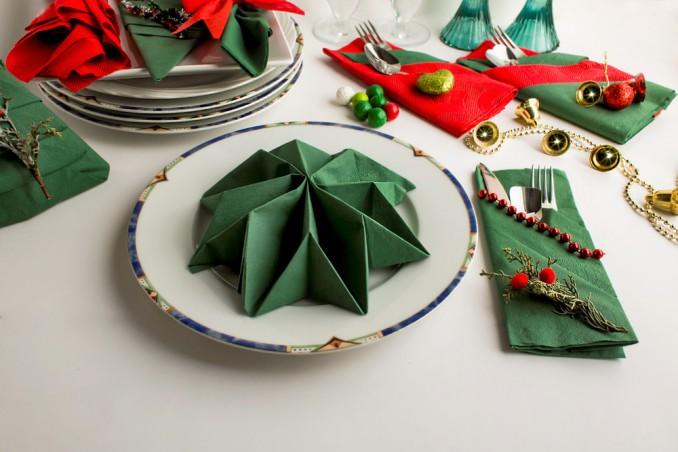 Come Piegare I Tovaglioli Di Carta Per Natale.Come Piegare I Tovaglioli Di Carta Donnad