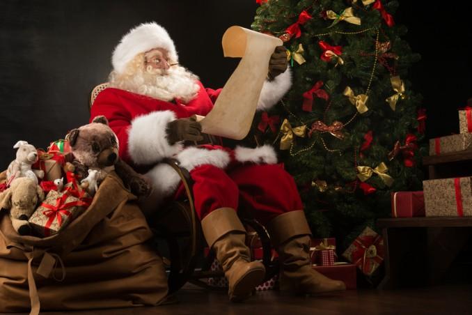 Babbo Natale chiamata