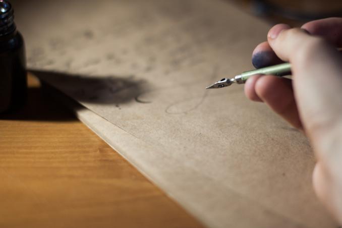 lettera scuse, scrivere lettera mano