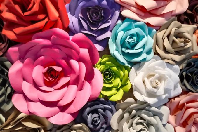 come fare rosa carta, rosa carta fai da te, rosa carta