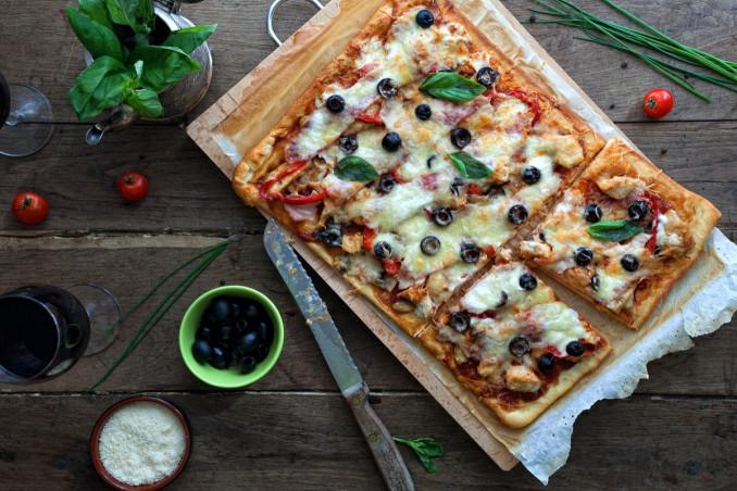 pizza, teglia, fai da te