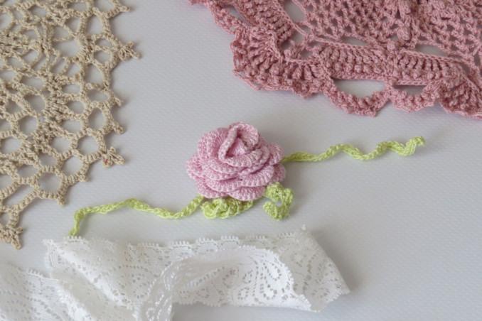 rosa uncinetto facile, rosa uncinetto tutorial, rosa uncinetto schema, rosa uncinetto