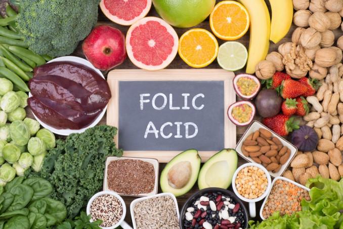 acido folico, folacina, alimenti ricchi