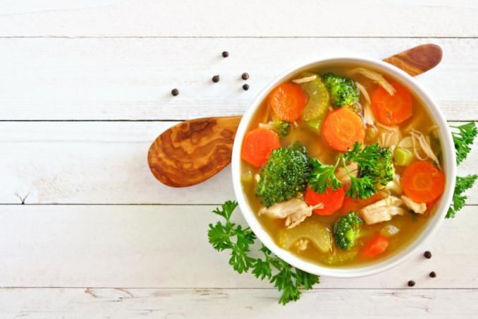 dieta. minestrone, schema