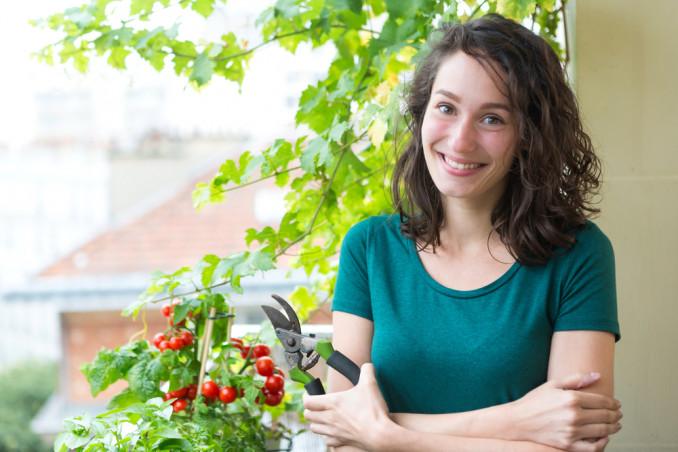 orto balcone piante