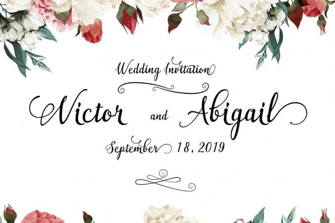matrimonio, vintage, inviti