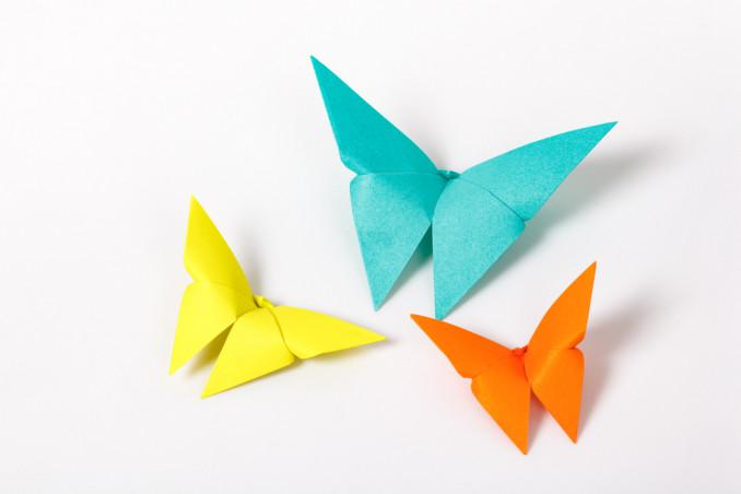 farfalle origami facili