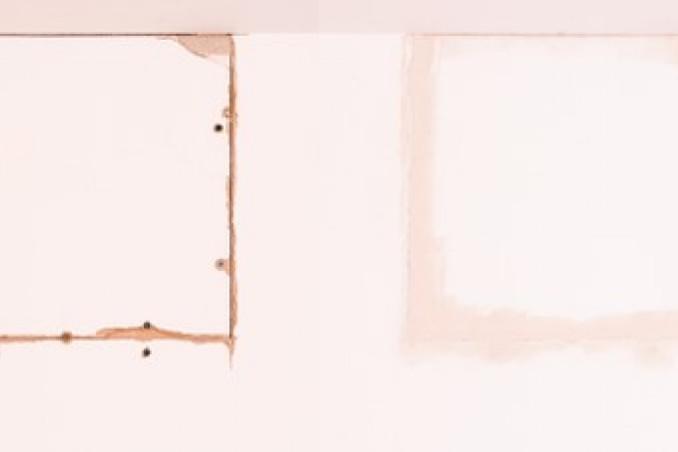 come riparare buco cartongesso, buco cartongesso