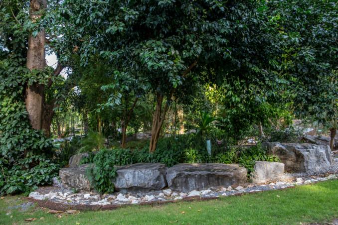 sassi giardino decorazione