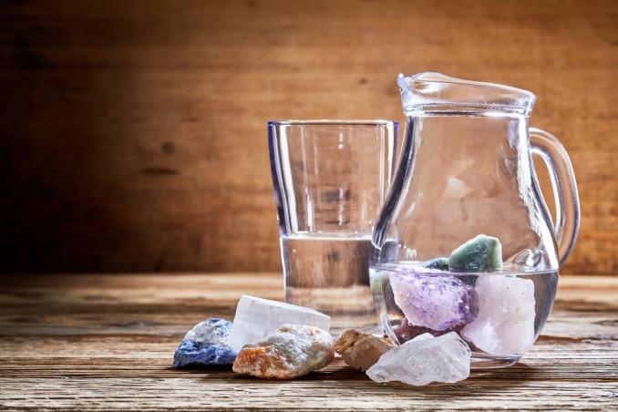 acqua e cristalli