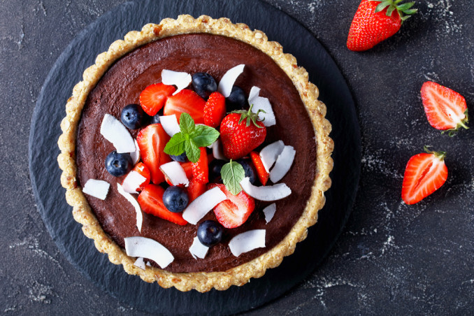 come decorare crostata frutta, decorazioni crostata frutta