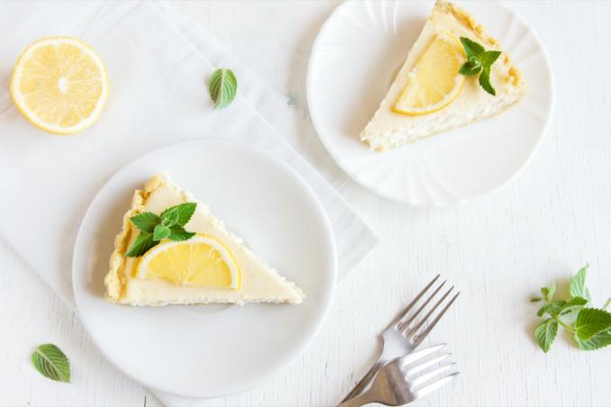 cheesecake, limone, torta