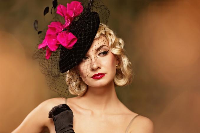 cappello, donna, matrimonio