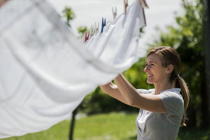 sognare lavori domestici, stendere bucato, interpretare il significato