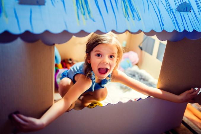 costruire casetta bambini