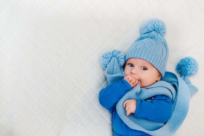 vestire neonato inverno