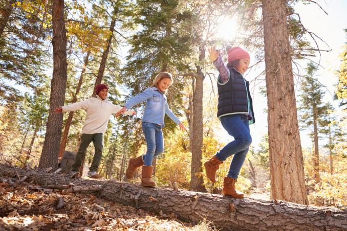 Camminare con i bambini