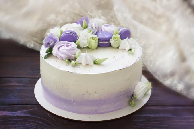 torte decorate macarons, torte macarons