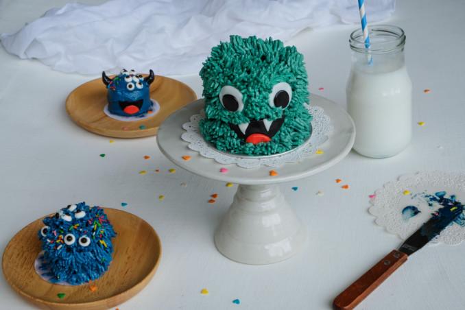 torte halloween decorate panna, torte halloween panna, decorazioni torte halloween panna