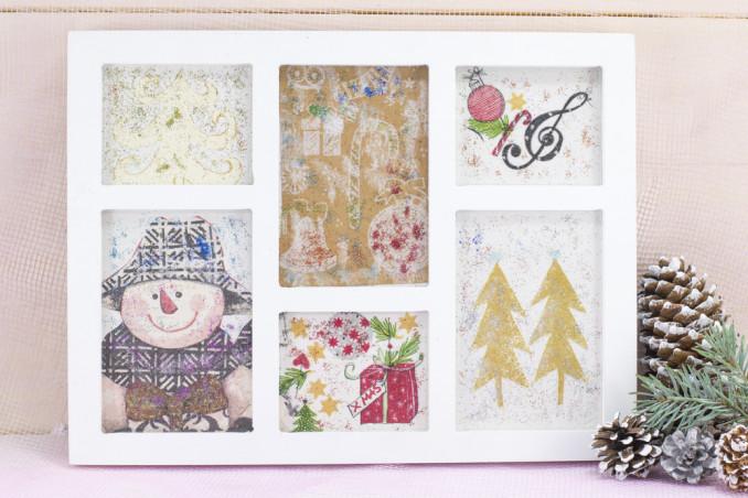 decorazioni natalizie fai da te, decorazioni natalizie fai da te carta, decorazioni natalizie decoupage