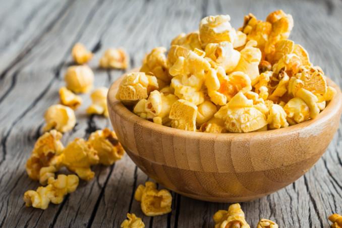 popcorn, burro, fai da te