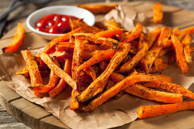 patate dolci, frittura, come farle