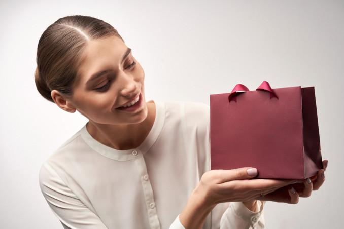 busta regalo origami