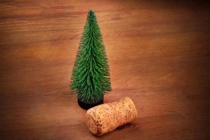 segnaposto natalizi sughero