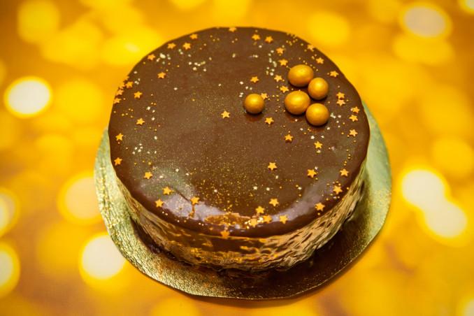 torte capodanno decorate cioccolato, torte capodanno, torte capodanno decorazioni