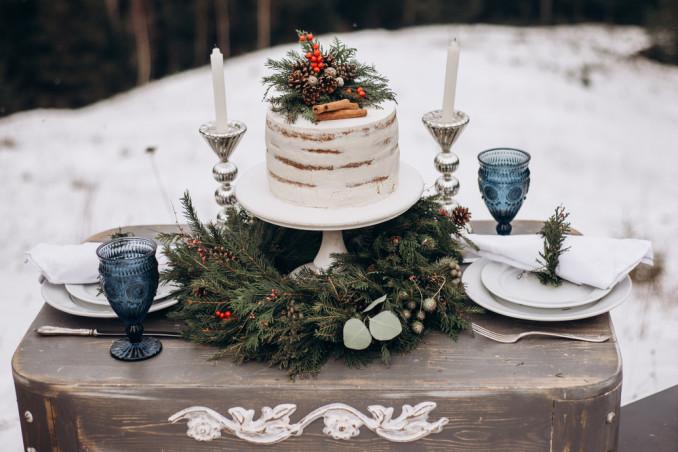 torte matrimonio inverno, torte matrimonio invernale