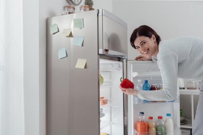 Organizzare la spesa e il frigorifero