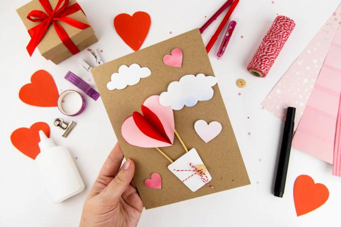 biglietti san valentino fai da te tutorial, biglietti san valentino fai da te