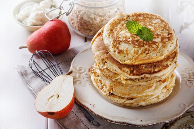 pancake, proteine, avena