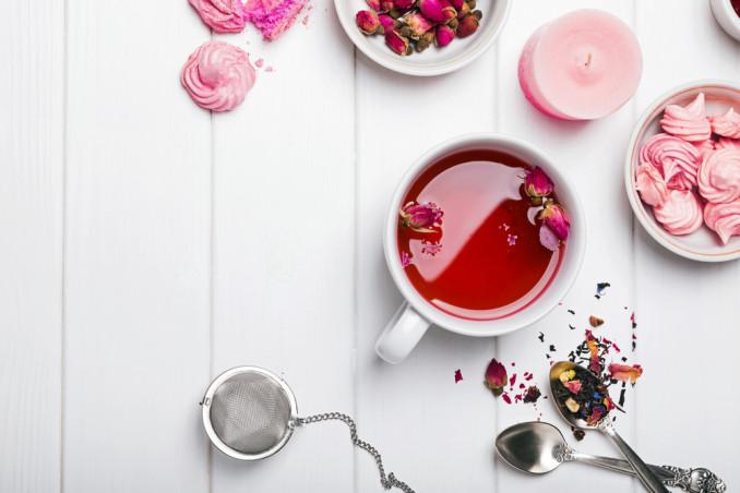 Tè alla rosa