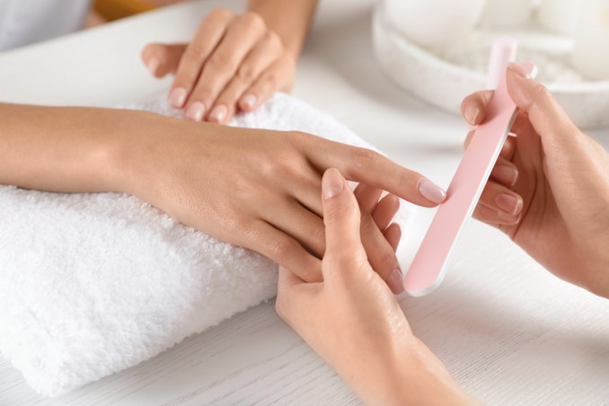 manicure, casa, strumenti