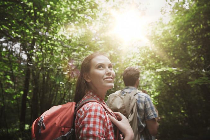 camminata bosco indumenti