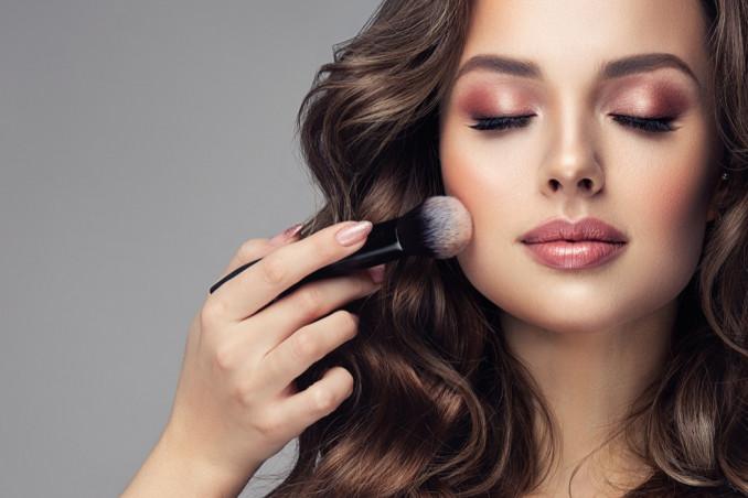 trucco, giorno, makeup