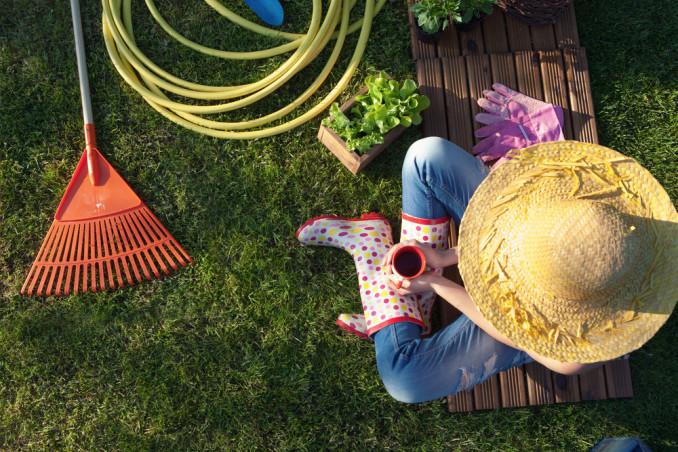 giardinaggio primavera, lavori giardino primavera