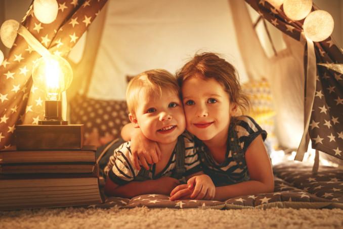 lampada bambini fai da te