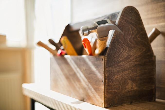 come organizzare cassetti attrezzi, come ordinare cassetta attrezzi