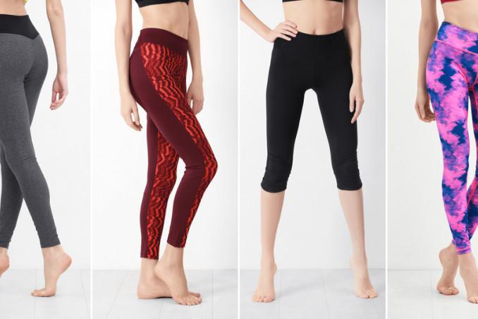 leggings e i pantaloni da yoga