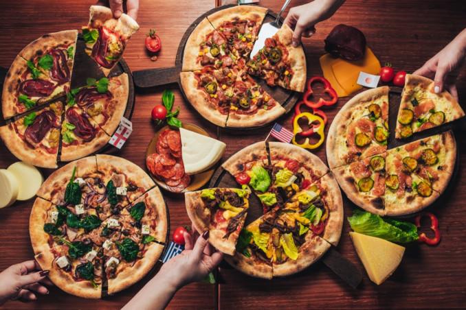 calorie, pizza, margherita