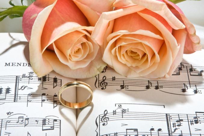 matrimonio, tema, musica
